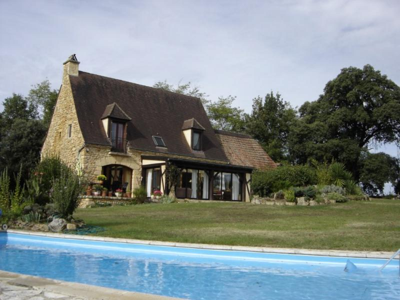 Pool and New House - Country houses in Dordogne. Pool. View and privacy - Grolejac - rentals
