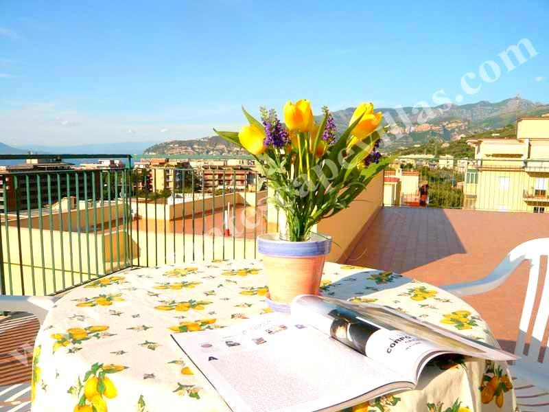 Apartment Sun in Sorrento centre with sea view - Image 1 - Sorrento - rentals
