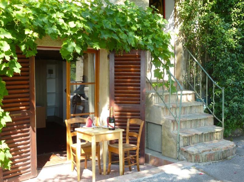 The Grapevine - Small Studio - Big View & WIFI in Medieval Village - Cagnes-sur-Mer - rentals