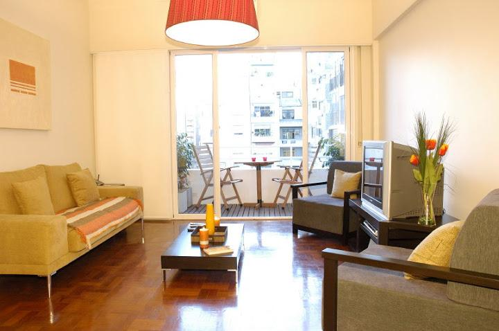 living room - Luxury 1 Bedroom - 2 Bath with Office (LR5) - Buenos Aires - rentals