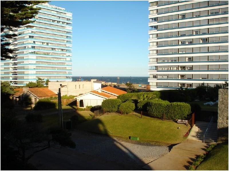 View from the main terrace - Near the beach, with view to the ocean - Punta del Este - rentals