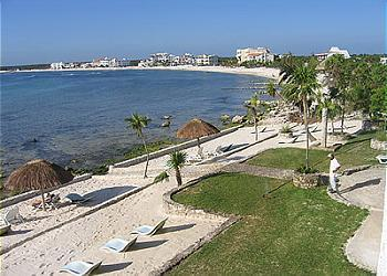 Beach View - Blue Water Views, Right on the Beach - Akumal - rentals