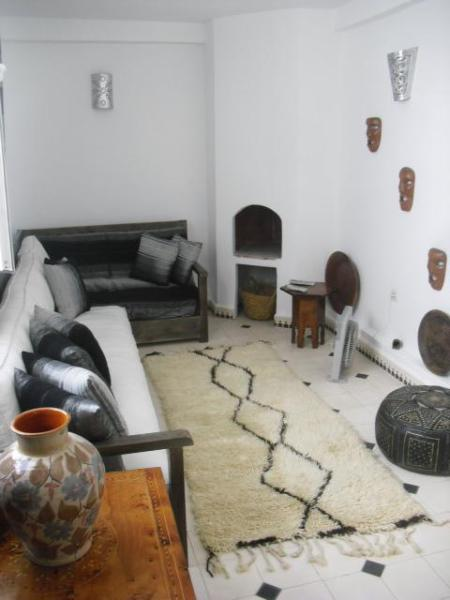 Lounge with TV - Essaouira medina house - Essaouira - rentals
