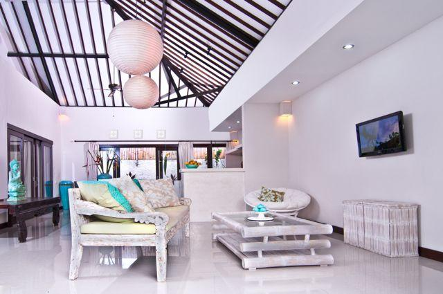 Large living room - Beautiful Villa Cemara, a luxurious home away from home w. pool - Seminyak - rentals