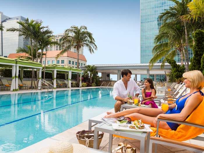 Luxury 2br/2ba at the Conrad Hilton - Image 1 - Coconut Grove - rentals