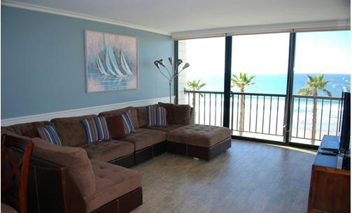 One Bedroom, one bathroom Ocean front condos at Capri - Image 1 - Pacific Beach - rentals