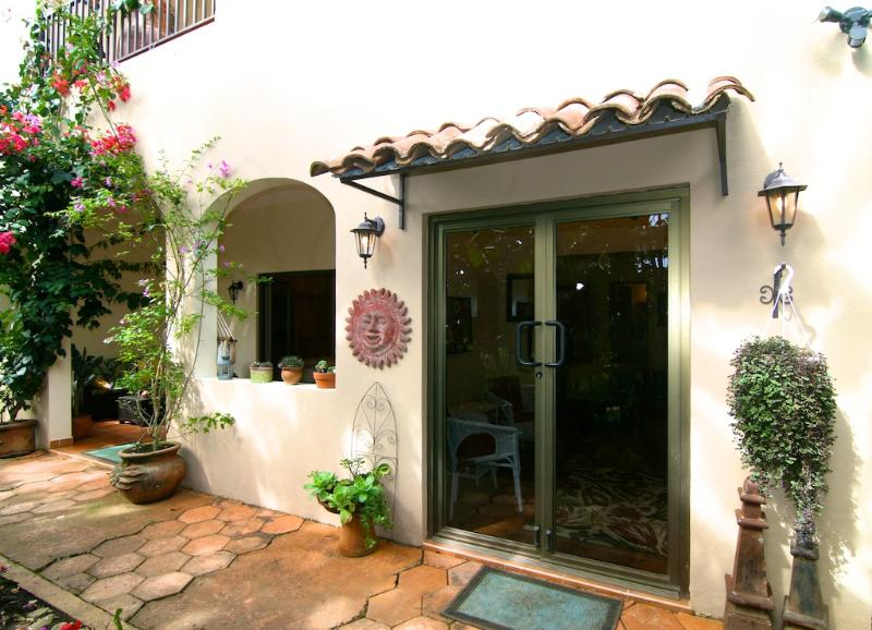 Entrance to the Garden Suite - The Garden Suite at the Hacienda - Boquete - rentals