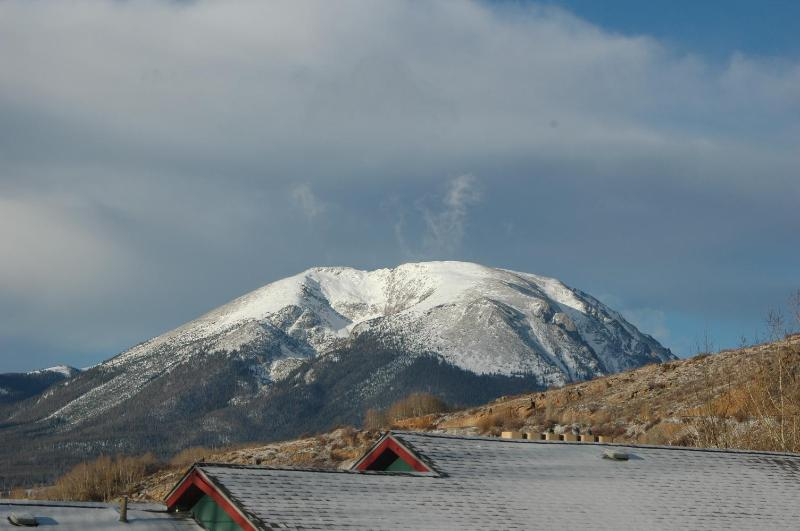 View from condo. - Beautiful Mtn. Condo - Great Views, Wifi - No Fees - Dillon - rentals