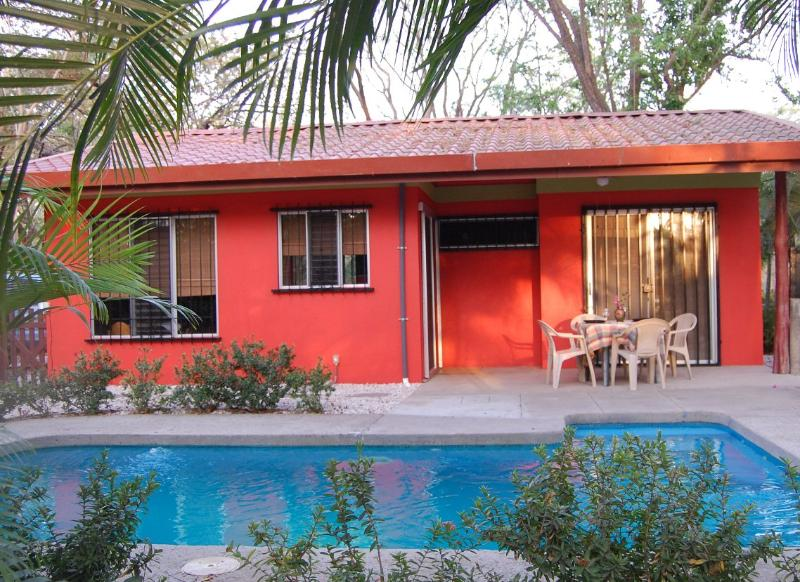Private backyard with pool - Tropical Retreat With Private Pool - Playa Potrero - rentals