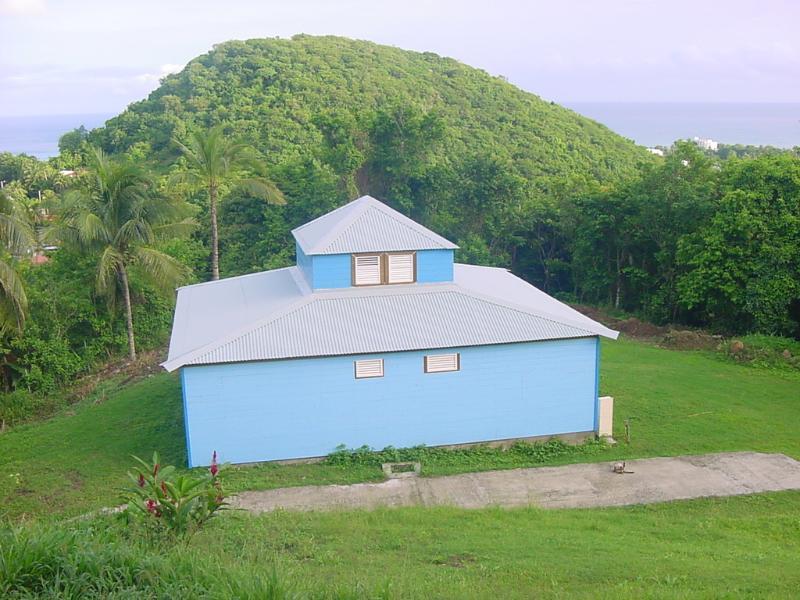 Vue d'ensemble - Maison créole colorée vue mer et Jacuzzi privé - Deshaies - rentals