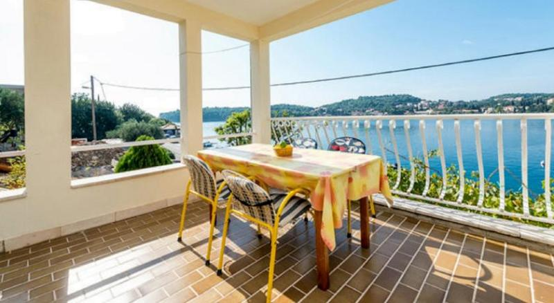 Terrace - 2 bedroom apartment with terrace in Zaton Bay A4 - Zaton - rentals