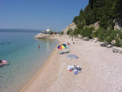 Apartment 2+1, only 70m from beach! - Image 1 - Brela - rentals