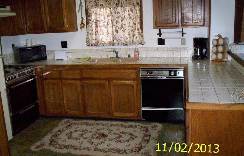 Kitchen - Mountain Cabin, 4 Seasons, Boating, Fish, Trails - Big Bear City - rentals