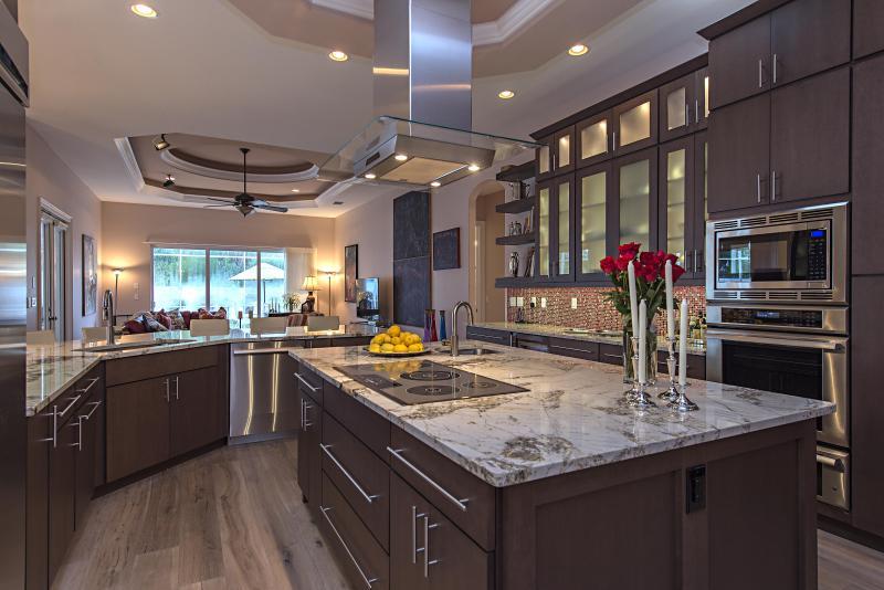 Granite and custom cabinets - Luxury Beach House -  5/5, 2.5 blocks to beach - Naples - rentals