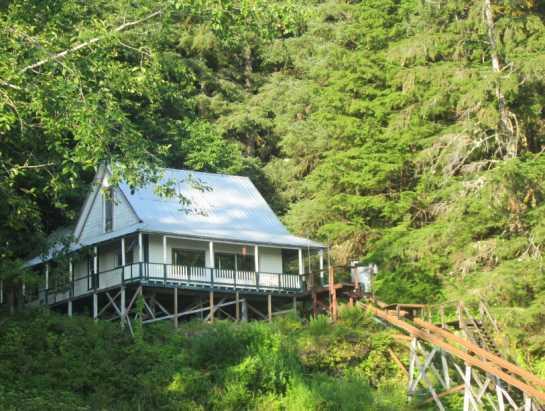 Historic Heckman House - Naha Bay, Loring Alaska  Historic Heckman House - Ketchikan - rentals