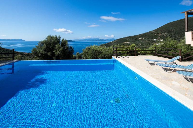 Pool - Villa Kalithea  - Peaceful, brand new luxury villa in magical setting - Sivota - rentals