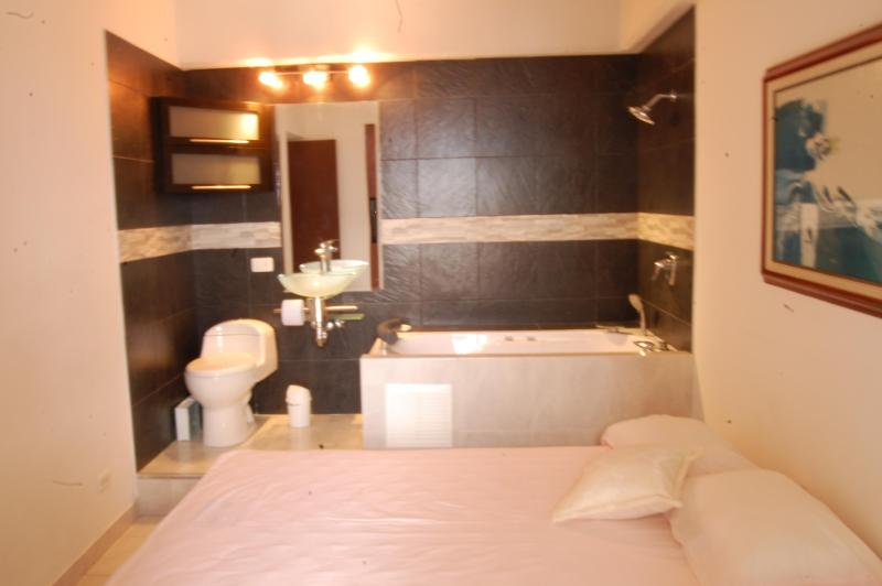 Large and comfortable bedroom - Lovely Modern 2 bedroom in the sky, with pool. - Medellin - rentals