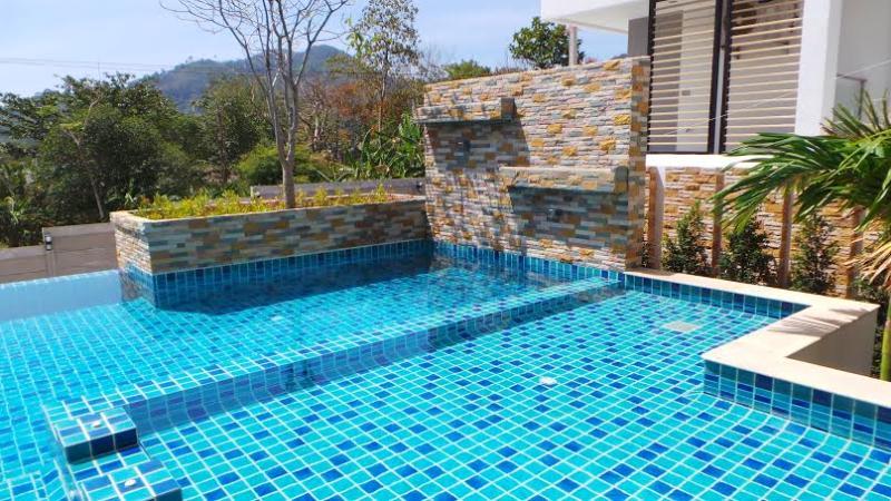 Lovely pool - New Finished Luxury & Stylish Condo Kathu Phuket - Kathu - rentals
