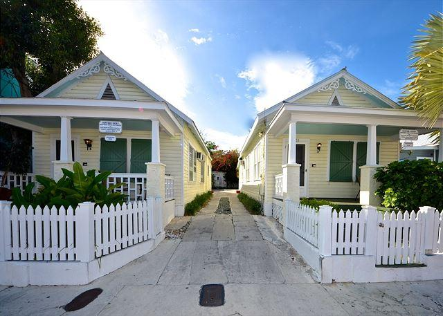 """TRADEWINDS""  Private Parking - Two Private Hot Tubs - 1/2 Block To Duval! - Image 1 - Key West - rentals"