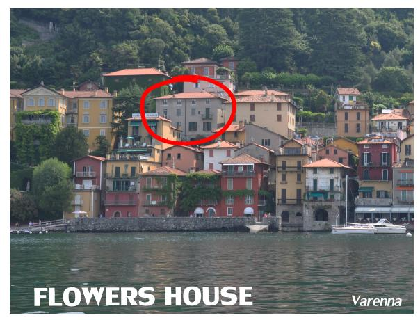 View from lake - FLOWERS HOUSE  Varenna Vacation Flats - Nuxis - rentals