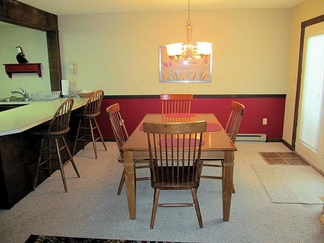 Dining Room - 16 Blue Heron~3 Bedroom~2 Bath~Sleeps 10-12 - Lake Harmony - rentals