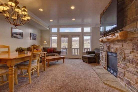 Snowbasin South View Condo   Luxury 2 Bedroom   Lakeside Unit 18 - Image 1 - Huntsville - rentals