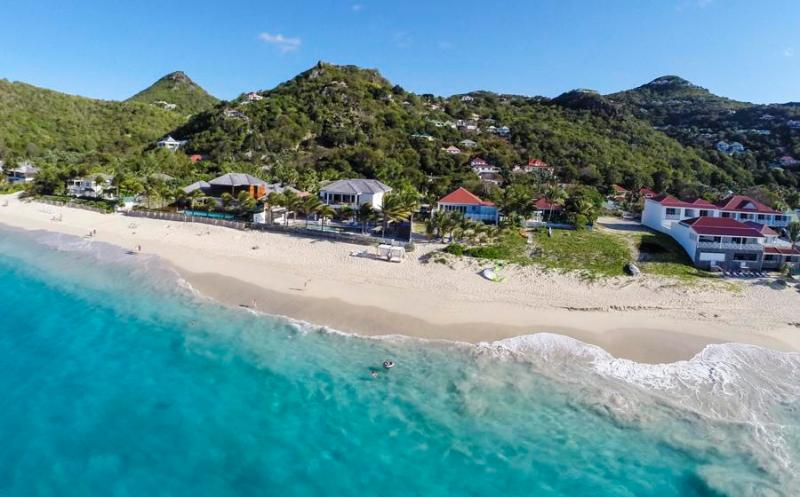 Celina at Flamands, St. Barth - On The Beach, Ocean Views, Tropical Garden - Image 1 - Flamands - rentals