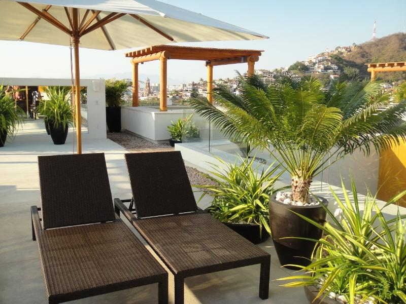 Your holiday chairs are waiting!! - V399 Contemporary Studio in Charming Old Town! - Puerto Vallarta - rentals