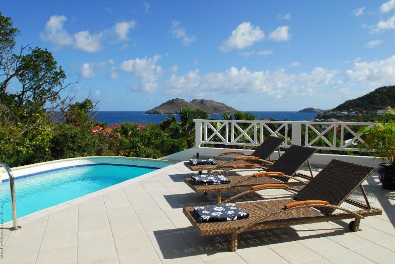 Mahogany at Flamands, St. Barth - Ocean View, Walk To Beach, Private - Image 1 - Colombier - rentals