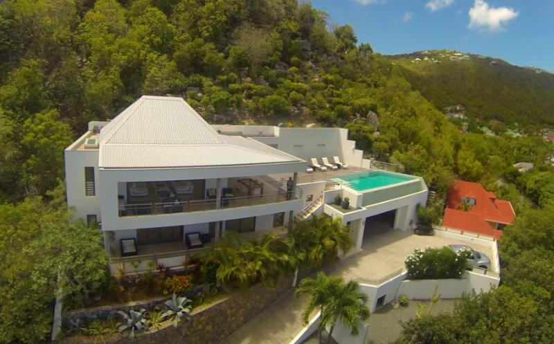 Matajugai at Flamands, St. Barth - Ocean View, Walk To Beach, Contemporary - Image 1 - Colombier - rentals