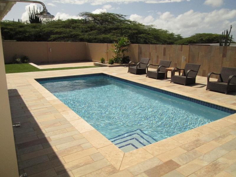 Pool and relax area: YEAH! - GREAT CLEAN LARGE Villa in North USD 185,00 - Noord - rentals