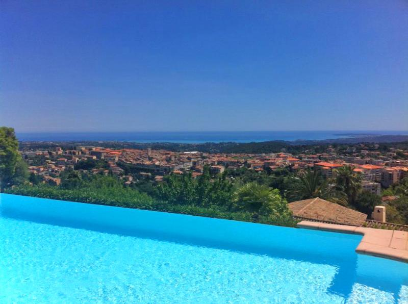 House La Désirade - Fantastic large villa with panoramic sea view - Vence - rentals