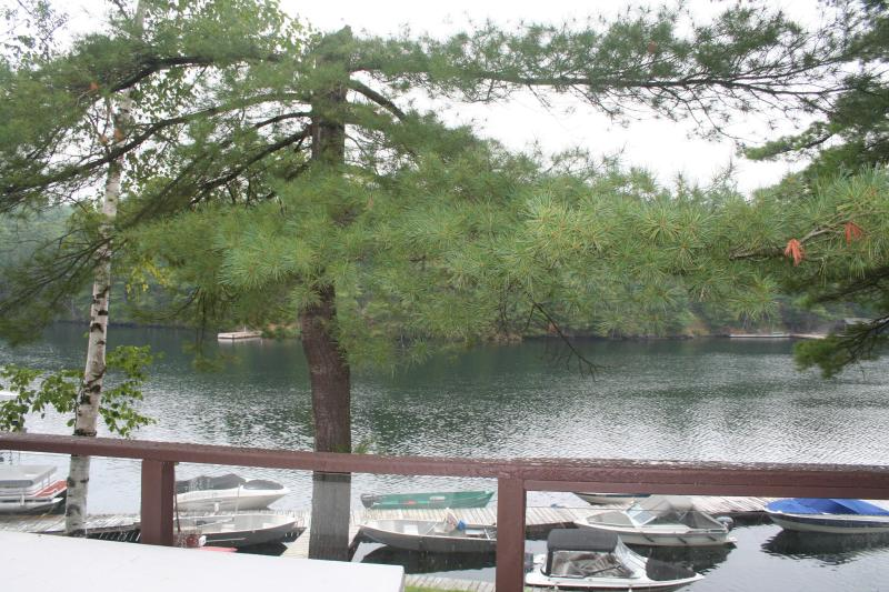 The Severn View - View From Deck - Muskoka - Tea Lake Cottages - The Severn View - Muskoka - rentals