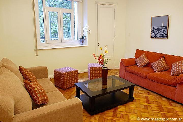 Living room - 1 bedroom / 1.5 baths ( LR1 ) Recoleta - Buenos Aires - rentals