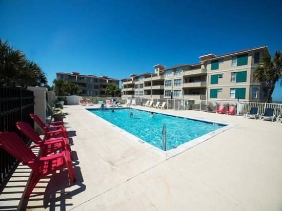 This is one of Tybee Islands finest condominium complexes and one of only a few properties with a private swimming pool that overlooks the ocean - DeSoto Beach Club Condominiums - Unit 304 - Swimming Pool - FREE Wi-Fi - Tybee Island - rentals