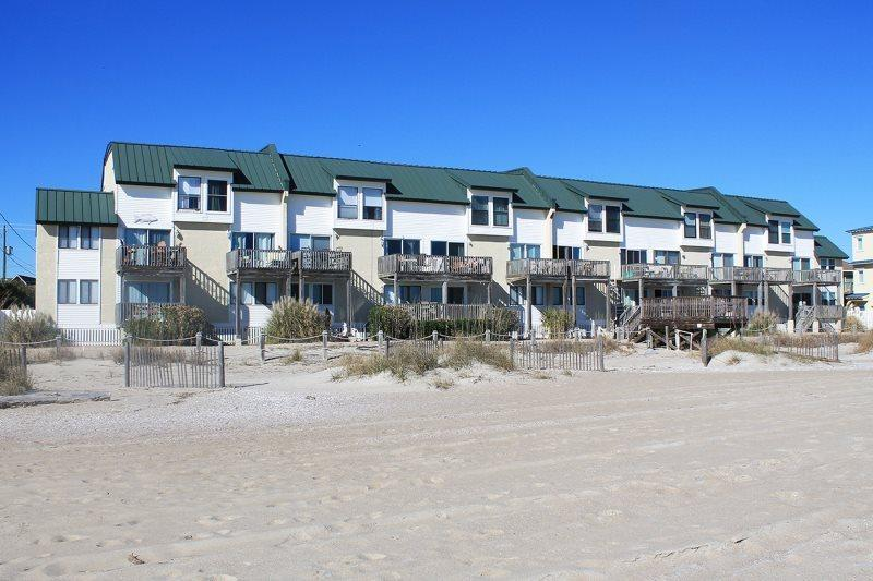 This oceanfront townhome is located on the quiet end of Tybee away from the crowds  noise of South Beach, yet close to restaurants  shops - Tybee Lights Condominiums - Unit 110-B - Tybee Island - rentals
