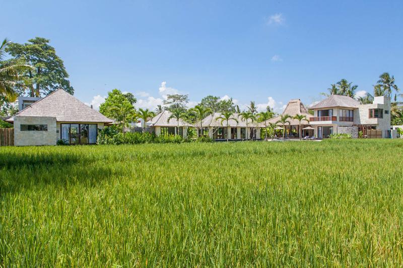 Villa Lumia - Overview view from the Rice Fields - Villa Lumia - Splendid Private Villa in Ubud Bali - Ubud - rentals