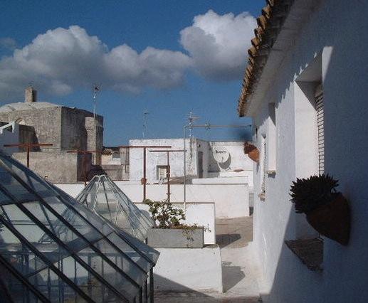 The rooftop of El Granero in Vejer de la Frontera - El Granero in Vejer - Unique roof-top apartment - Barbate - rentals