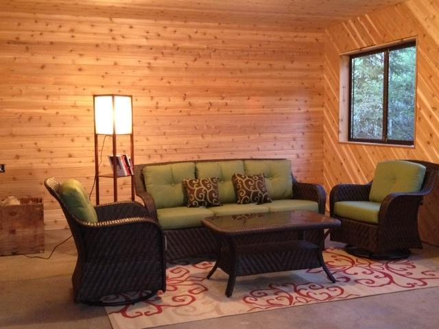 Quiet and inviting cedar porch - 3 BR 2 Bath Bear Island Lake cabin - Babbitt - rentals