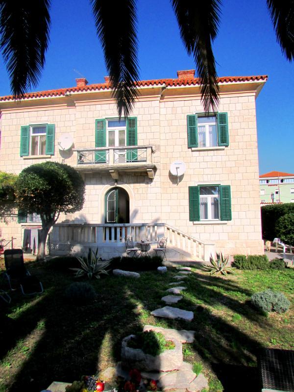 Villa view from the garden - Villa 'Celio Cega' on a stunning location!!!! - Trogir - rentals