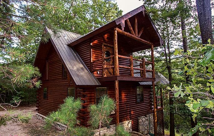 Cinnamon Valley - 'The Hideaway' - Image 1 - Eureka Springs - rentals