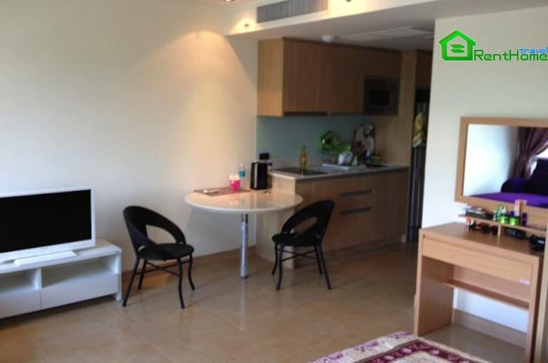 Studio 38 sq.m. in new 5* condo The Cliff Pratamnak ID-602 - Image 1 - Pattaya - rentals