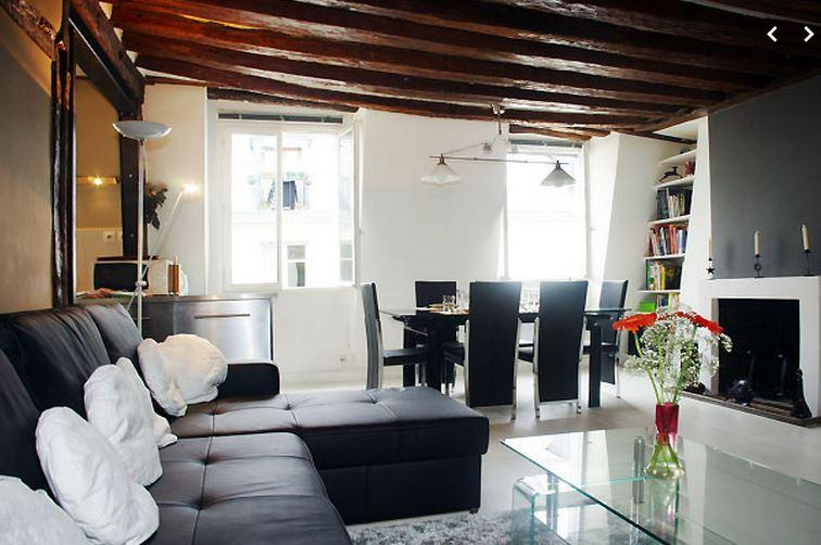 Montorgueil 2 bedroom 2 bath  (4509) - Image 1 - Paris - rentals