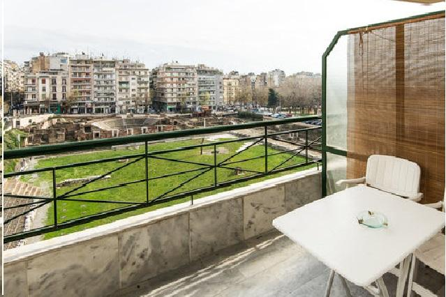 Balcony & View - Central Small Flat - Greatest View - Thessaloniki - rentals