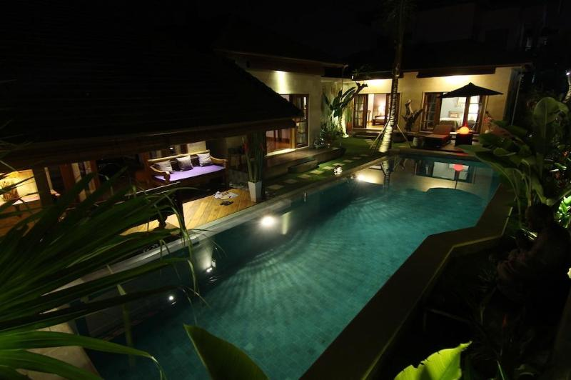 Outdoor Overview/Pool/Garden - Cozy 3 Bedrooms Villa in Pererenan, Canggu, Bali - Pererenan - rentals
