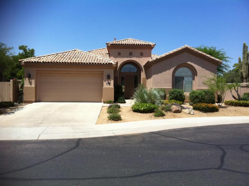 Front View - Grayhawk Scottsdale Furnished Single Family Home - Scottsdale - rentals