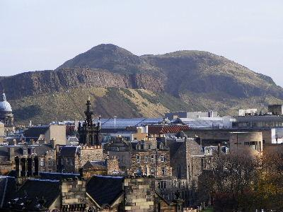 View from Bedroom, Living room and kitchen - Close to Universtiy and Centre - Edinburgh - rentals