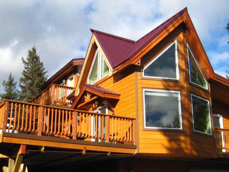 Eagle Aerie Private Chalet with hot tub - Awesome View Private Mountain Spruce Moose Chalet - Moose Pass - rentals