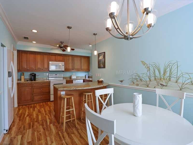 Kitchen - Fully Stocked - Siesta Key 2 Bedroom/2.5 Bath Remodeled Condo - Sarasota - rentals