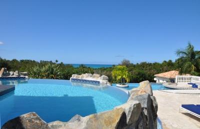 Relaxing 5 Bedroom Villa Overlooking Plum Bay in Terres Basses - Image 1 - Plum Bay - rentals